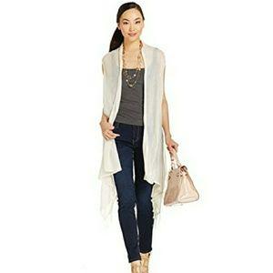 Women's  Ivory Kimono  Wrap O/S